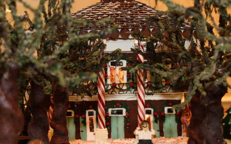 Rediscovering Photography On Summer >> Oak Alley Plantation Made From Gingerbread! | Oak Alley Foundation