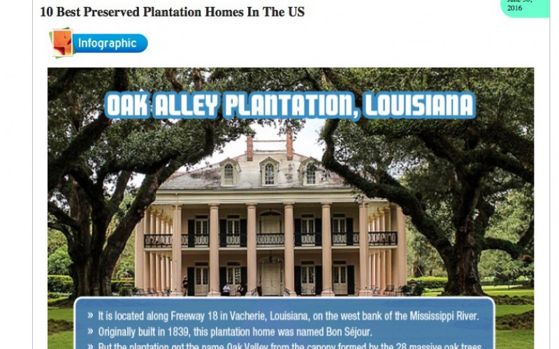 Oak Alley Plantation One of the 10 Best | Oak Alley Foundation